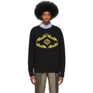 Gucci Black Rainbow Sweatshirt