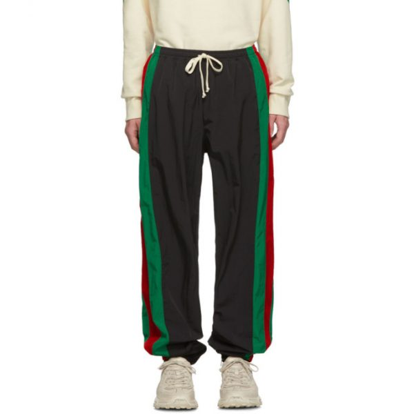 Gucci Black Waterproof Jogging Pants