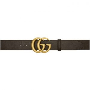 Gucci Brown Marmont Belt