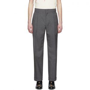 Gucci Grey Cuffed Trousers