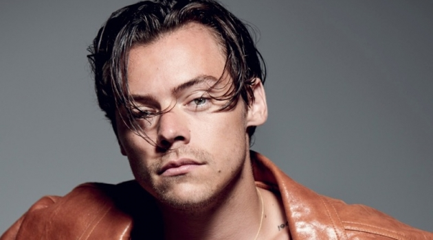 Collier Shorr photographs Harry Styles for The Face.