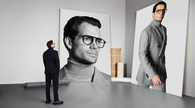 Henry Cavill stars in BOSS' fall-winter 2019 eyewear campaign.