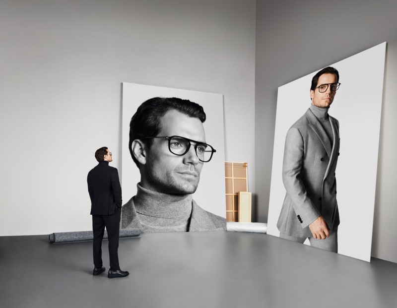 Henry Cavill stars in BOSS' fall-winter 2019 eyewear campaign.