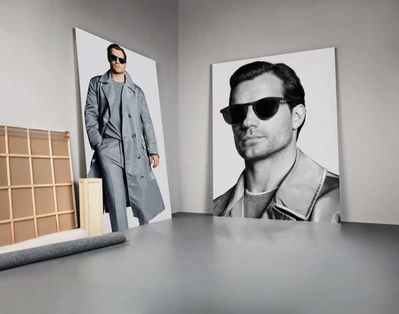 BOSS reunites with Henry Cavill for its fall-winter 2019 eyewear campaign.