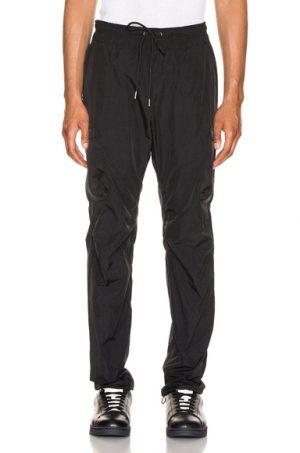 JOHN ELLIOTT Nylon Cargo Pants in Black