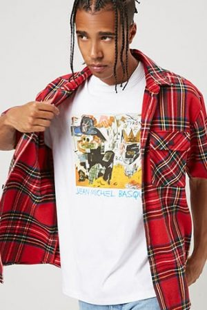 Jean-Michel Basquiat Graphic Tee at Forever 21 , White/multi
