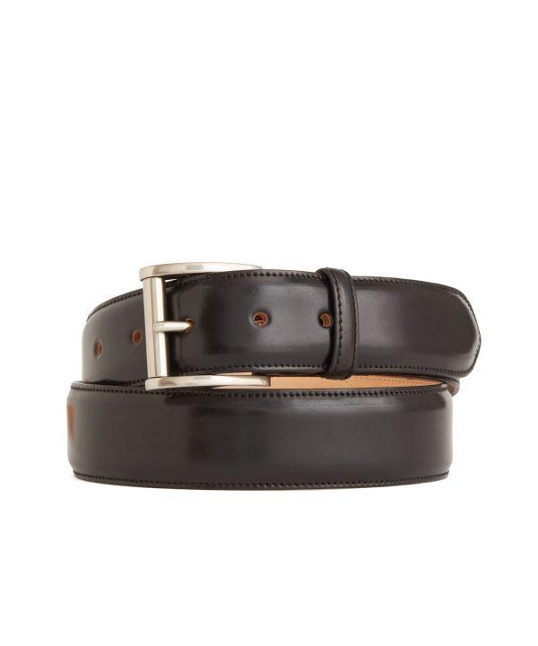 Kreis Cordovan Belt in Black