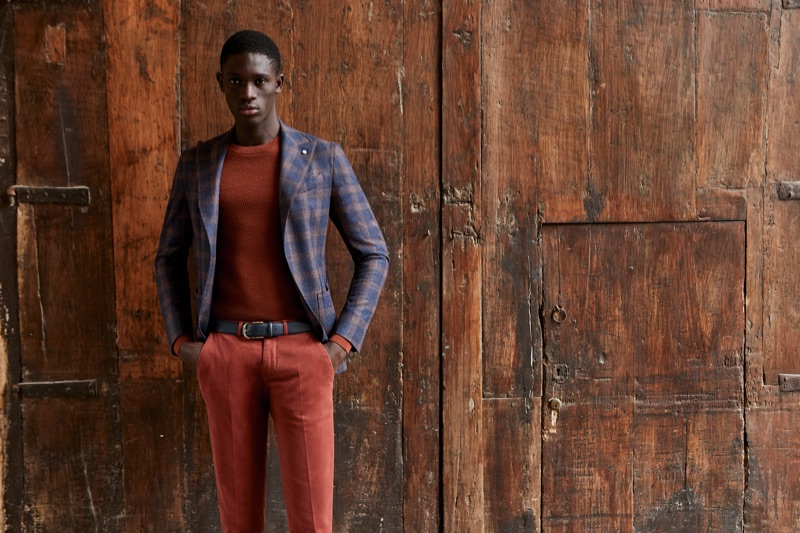 L.B.M. 1911 enlists Paco Diouf as one of the faces of its fall-winter 2019 collection.