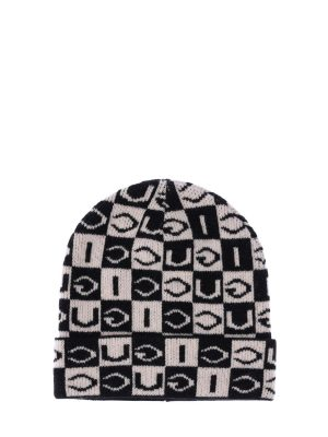 Logo Wool Knit Beanie