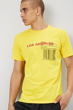 Los Angeles Graphic Tee at Forever 21 , Yellow/black