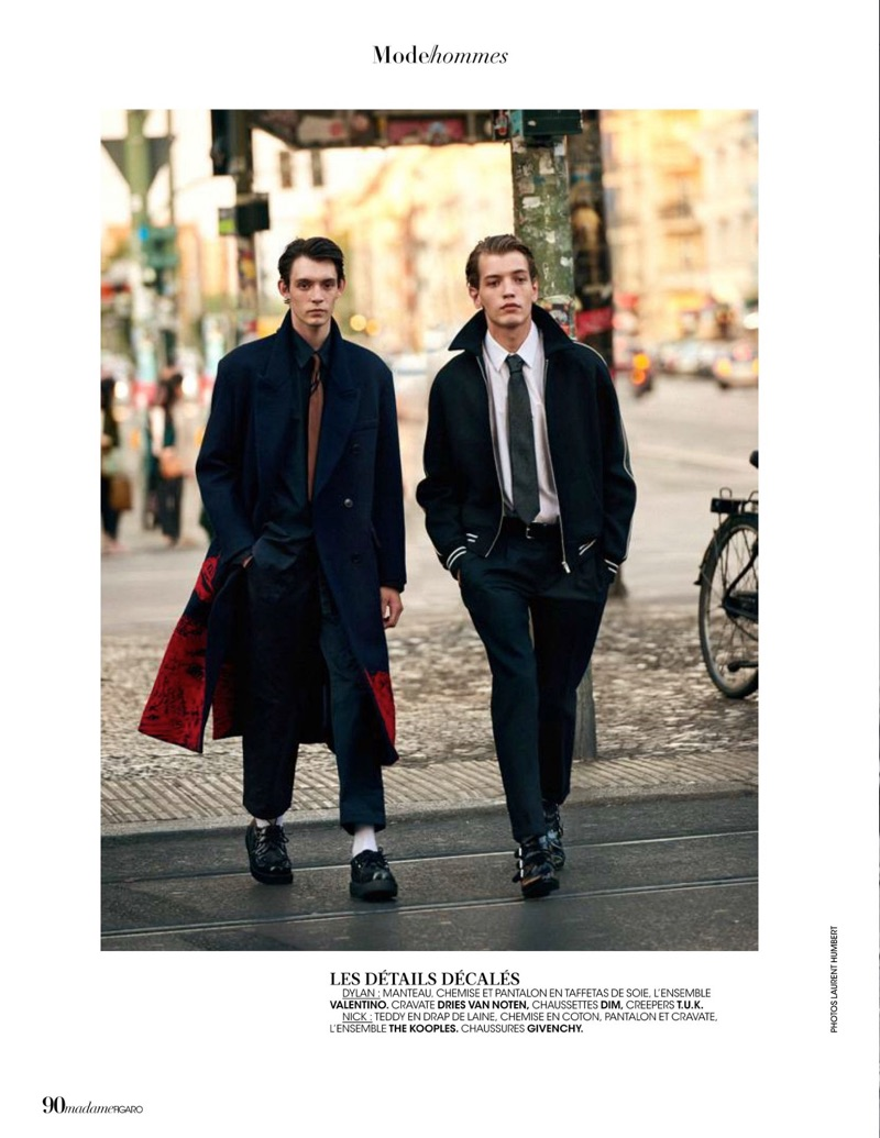 New Wave: Dylan Roques & Nick Kok for Madame Figaro