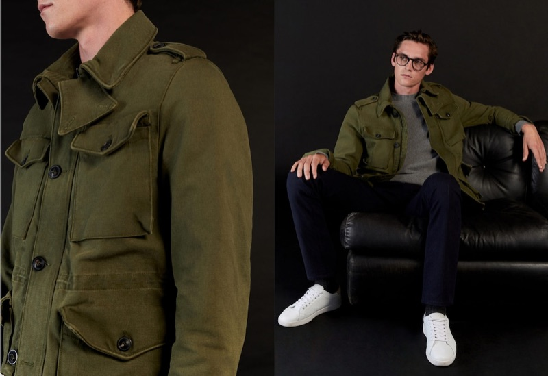 The Classy Utility: Anders Dons Military-Inspired Fashions for Mango
