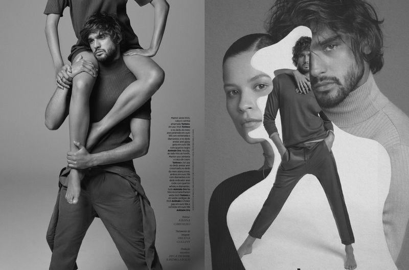 Marlon Teixeira Lands Harper's Bazaar Brasil Cover