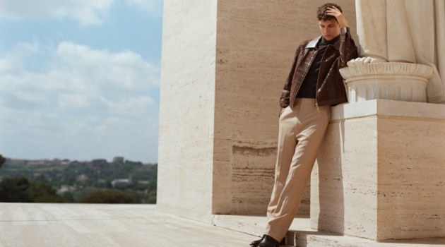 Mattia Travels to Rome in Fendi for Life & Style México