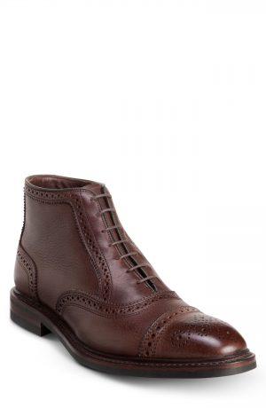 Men's Allen Edmonds Hamilton Wingtip Chukka Boot, Size 9 EEE - Brown