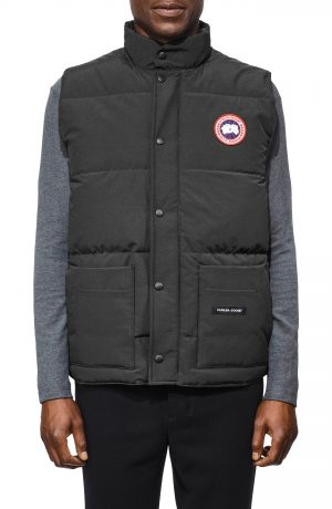 Men's Canada Goose Freestyle Regular Fit Down Vest, Size XX-Large - Grey