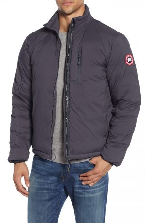 Men's Canada Goose Lodge Packable 750 Fill Power Down Jacket, Size X-Small - Grey