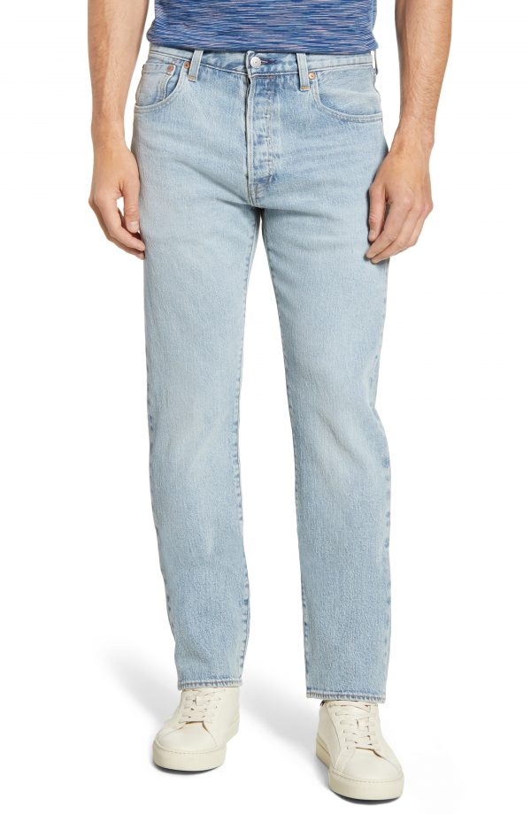 Men's Levi's 501 '93 Straight Leg Jeans, Size 29 x 32 - Blue