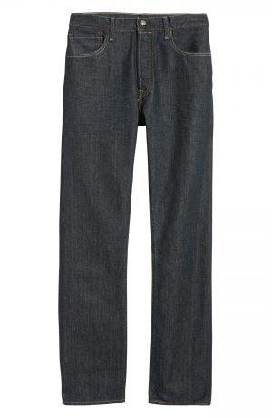 Men's Levi's 501 Straight Leg Jeans, Size 29 x 30 - Blue
