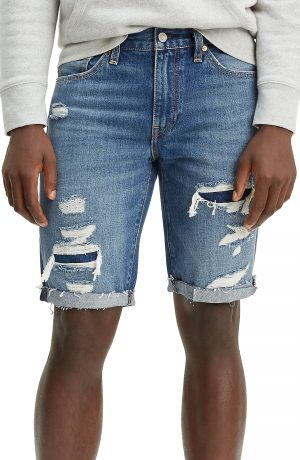 Men's Levi's 511(TM) Cutoff Denim Shorts, Size 29 - Blue