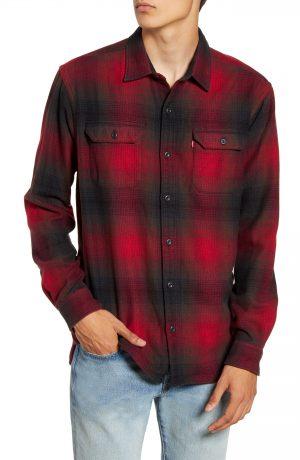 Men's Levi's Jackson Slim Fit Check Button-Up Flannel Shirt