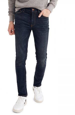 Men's Madewell Skinny Fit Jeans, Size 29 x 32 - Blue