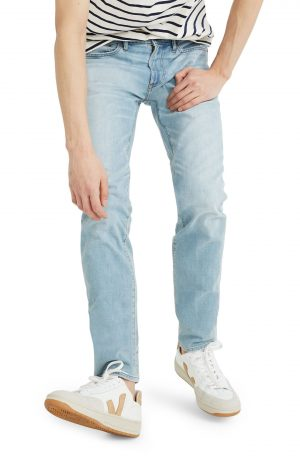 Men's Madewell Slim Fit Jeans, Size 33 x 32 - Blue