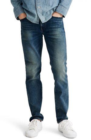 Men's Madewell Slim Jeans, Size 28 x 32 - Blue