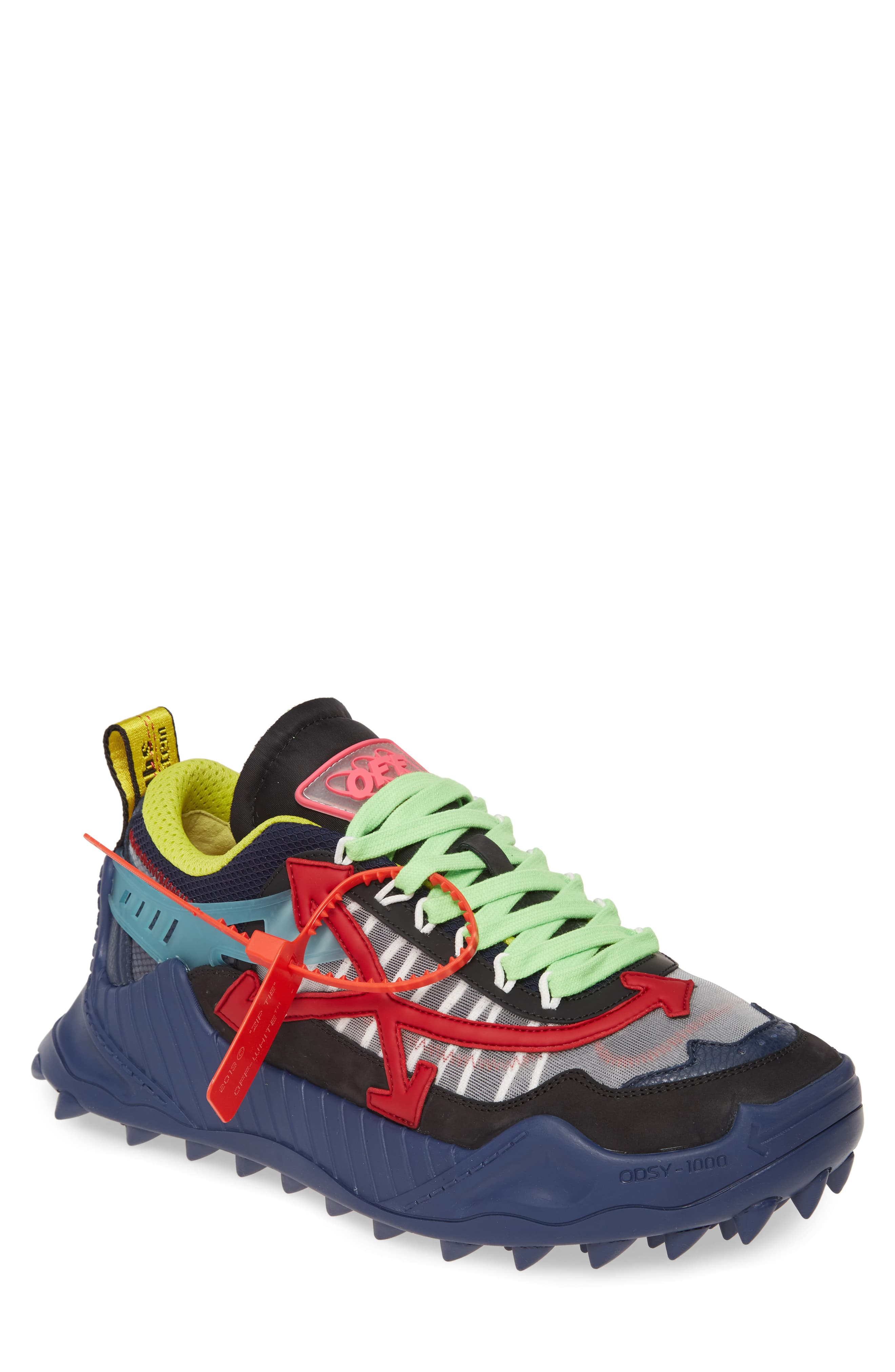 innovative design 31e74 a9bb5 Men's Off-White Odsy-1000 Sneaker, Size 39 EU - Blue