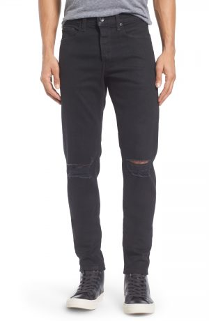 Men's Rag & Bone Fit 1 Skinny Fit Jeans, Size 28 - Black