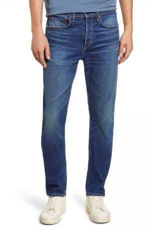 Men's Rag & Bone Fit 2 Slim Fit Jeans, Size 29 - Blue