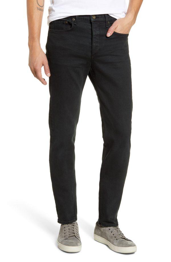 Men's Rag & Bone Fit 2 Slim Fit Jeans, Size 30 - Green