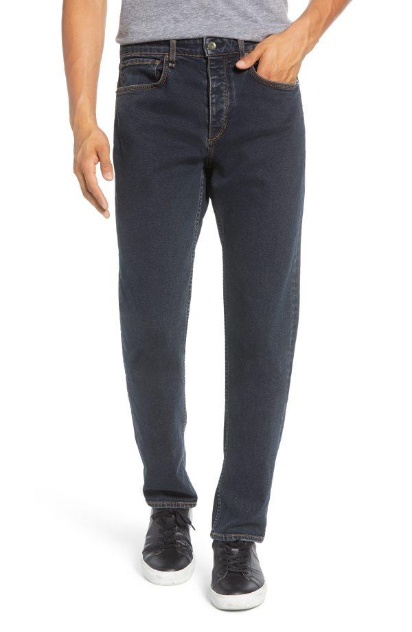 Men's Rag & Bone Fit 2 Slim Fit Jeans, Size 32 - Black