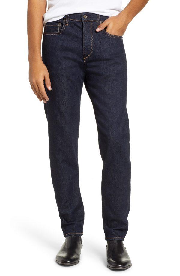 Men's Rag & Bone Fit 2 Slim Fit Selvedge Jeans, Size 29 - Blue