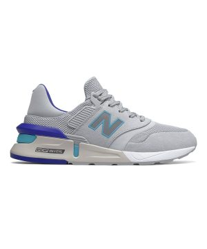 New Balance 997 Sport in Light Aluminum