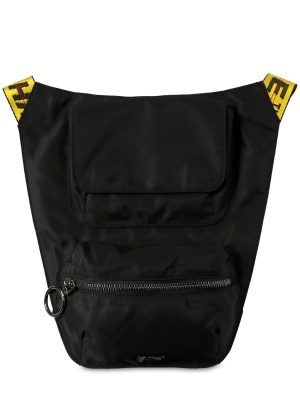 Nylon Body Bag W/ Logo Webbing