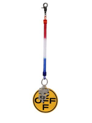 Off Cross Bungee Key Ring