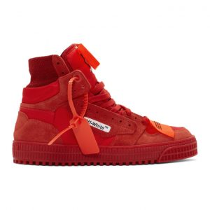 Off-White Red Off Court Sneakers