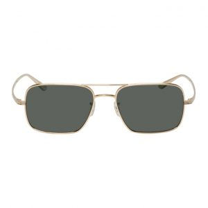 Oliver Peoples The Row Gold Victory LA Sunglasses