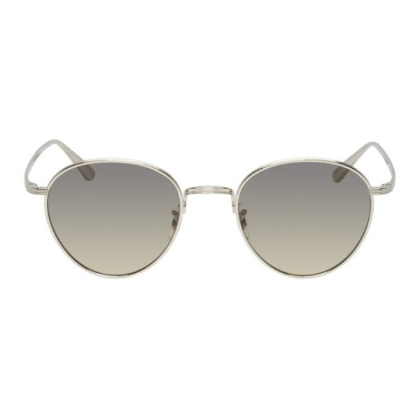 Oliver Peoples The Row Silver Brownstone 2 Sunglasses