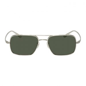 Oliver Peoples The Row Silver Victory LA Sunglasses