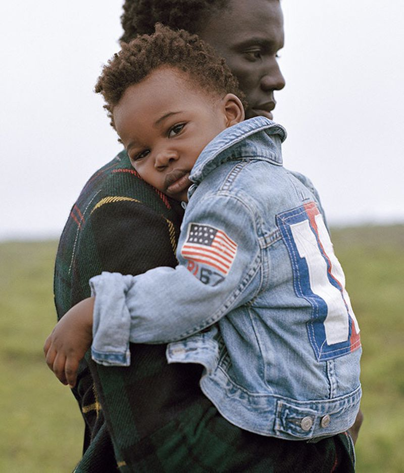 Hill & Aubrey photographs George Okeny and his son for POLO Ralph Lauren's fall-winter 2019 men's denim campaign.