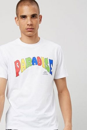 Paradise Graphic Tee at Forever 21 , White/multi