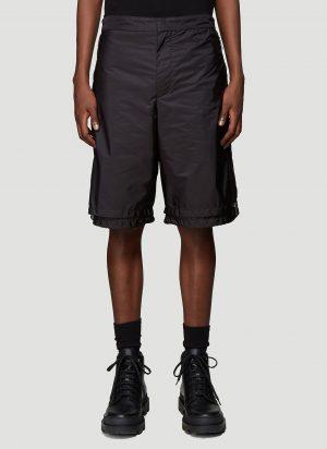 Prada Nylon Shorts in Black size IT - 46