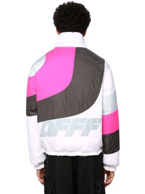 Printed Nylon Down Jacket