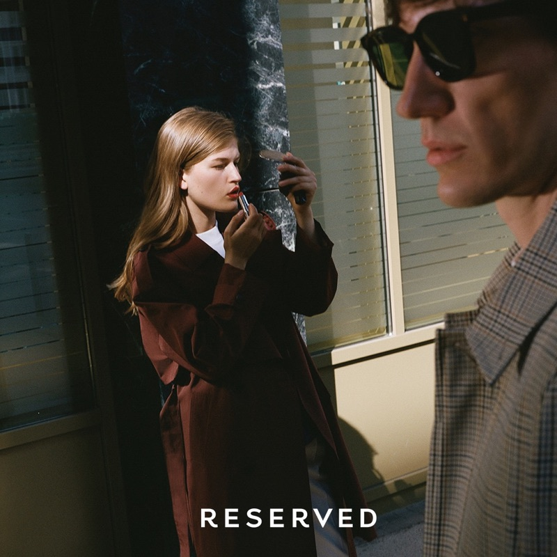 Stanislaw Boniecki photographs Molly Smith and Thilo Muller in looks for Reserved.