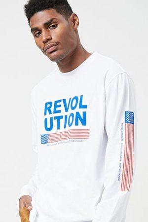 Revolutionist Graphic Tee at Forever 21 , White/multi