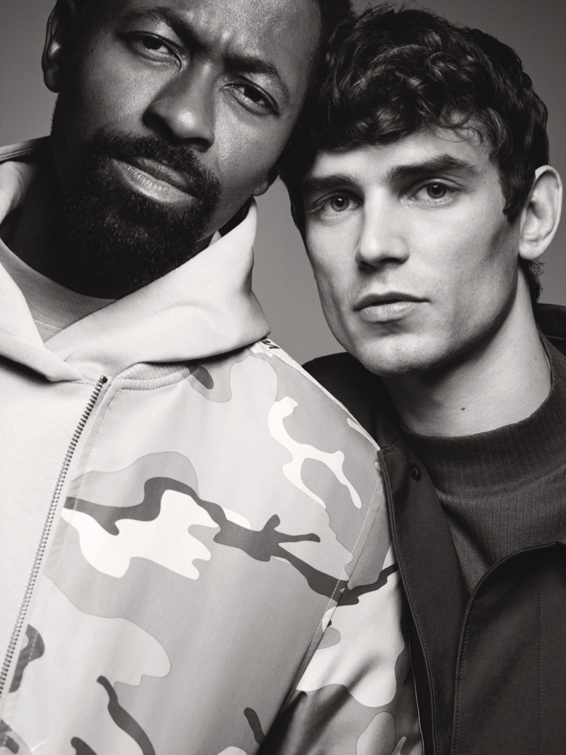 Ezra Mabengeza and Arthur Gosse front River Island's fall-winter 2019 campaign.