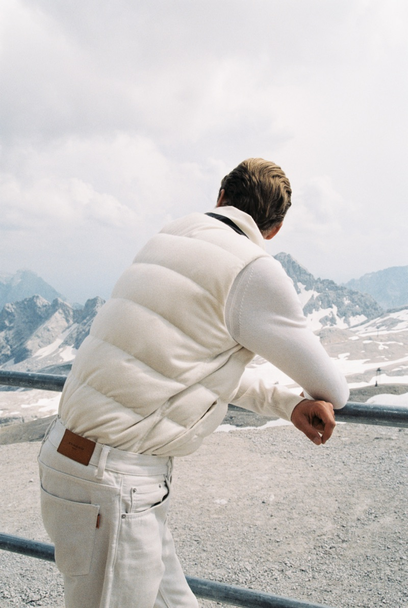 Robbi Gruendler Sports Outdoor Fashions for GQ Style Germany