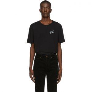 Saint Laurent Black Radio T-Shirt